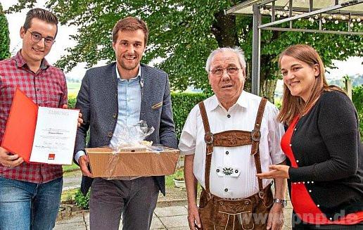 Ferdinand Schreiner über 70 Jahre SPD Mitglied