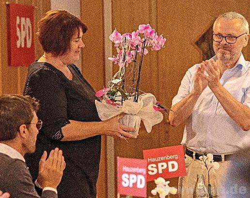 Evi Oberneder führt den SPD-Ortsverein Hauzenberg