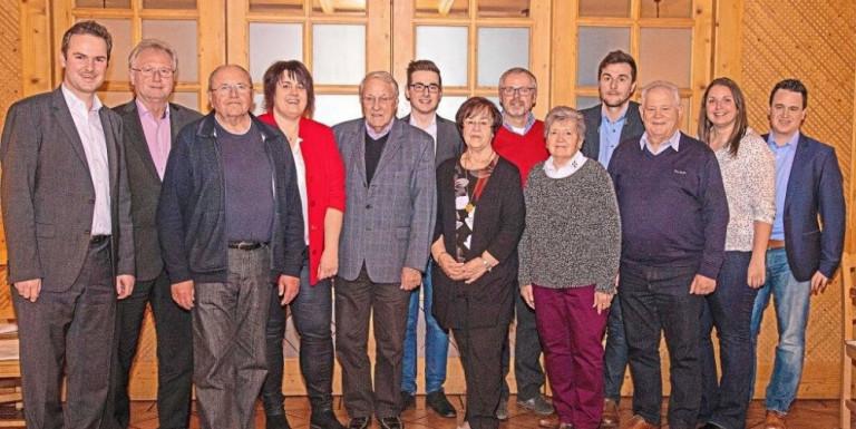 Die SPD ehrt und plant