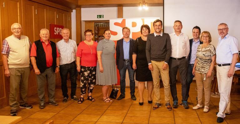 SPD Ortsverein Hauzenberg wählt neue Vorstandschaft