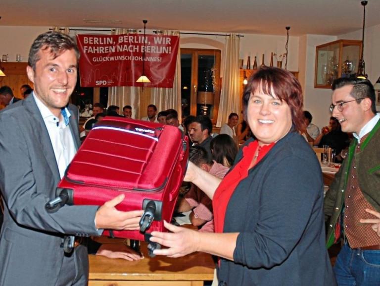 Johannes Schätzl zieht in den Bundestag ein